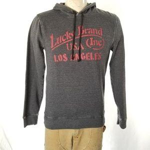 Lucky Brand Graphic Gray Sweatshirt